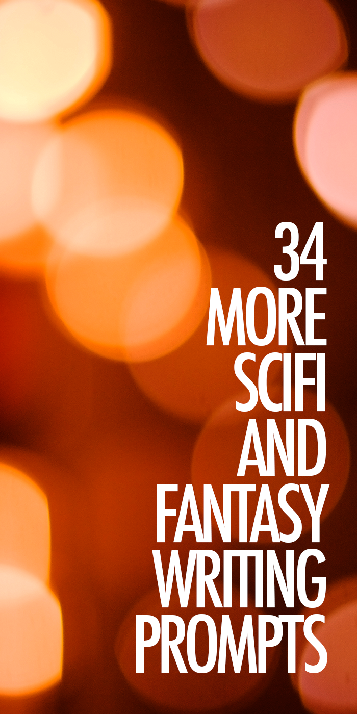 Creative writing science fiction prompts